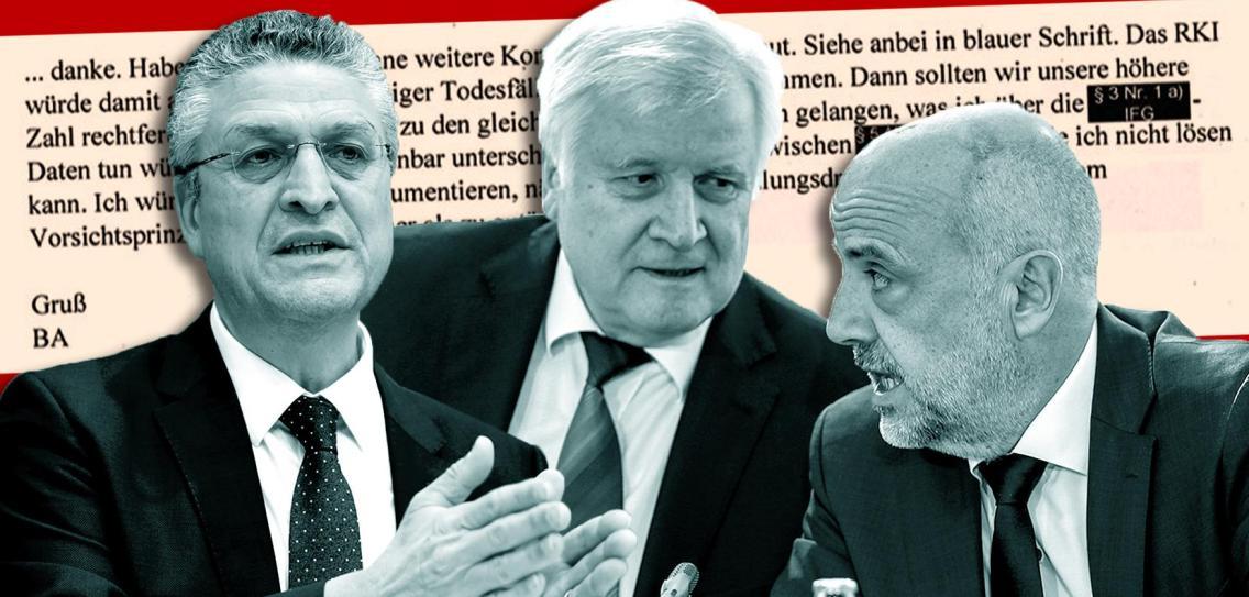 A német belügyminiszter tudósokat alkalmazott akorona pánik kiváltására