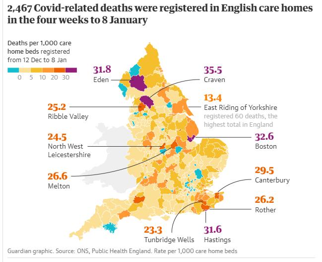Statisztika az Egyesült Királyság idősotthonaiból