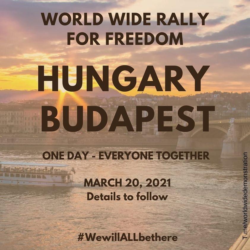 Világszintű demonstració a szabadságjogokért