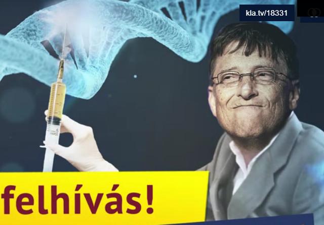 Sürgős felhívás! A koronavírus elleni oltás beavatkozik a DNS-be!