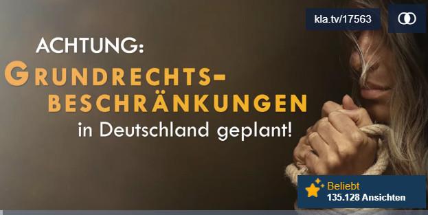 Figyelem! Az alapvető jogok állandó korlátozásait tervezik Németországban!