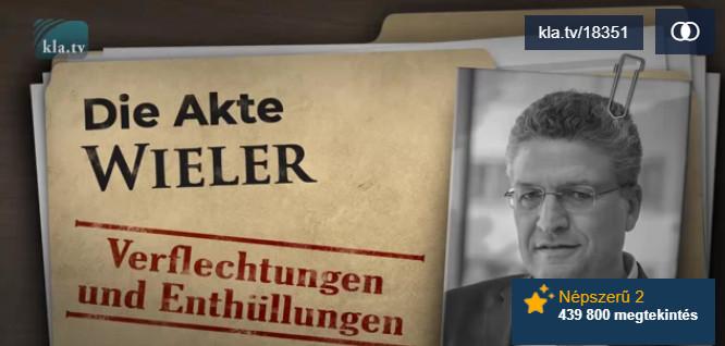 A Wieler-akták: összefonódások és leleplezések