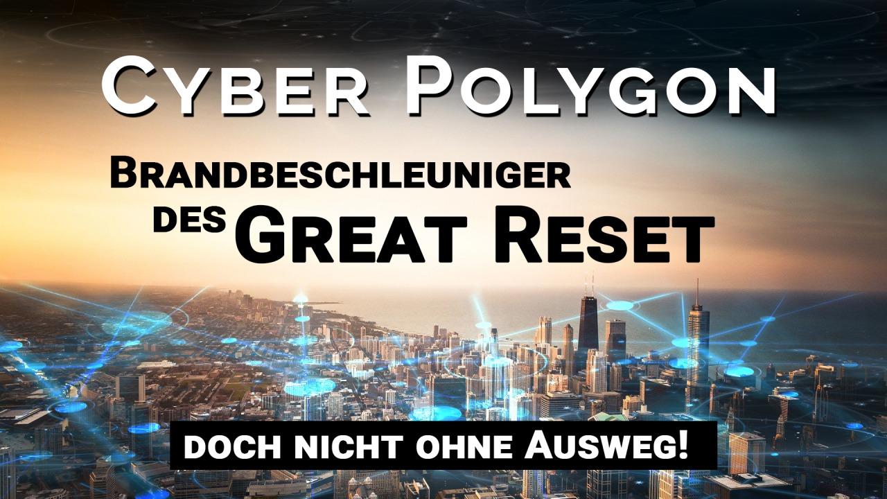 Cyber Polygon: A Great Reset tűzgyújtója - de azért nem kiút nélkül!